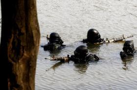 Výcvik příslušníků 601. skupiny speciálních sil v Prostějově