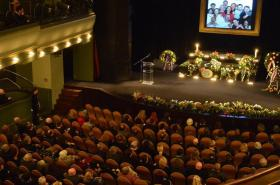 Poslední rozloučení s Vladimírem Čechem v Divadle ABC