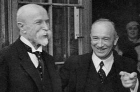 Tomáš Garrigue Masaryk a Edvard Beneš