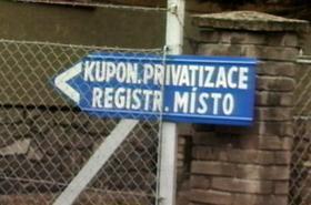 Registrační místo-kuponova privatizace
