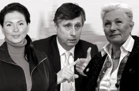 Jana Bobošíková, Jan Fischer a Zuzana Roithová
