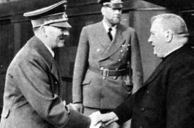 Jozef Tiso a Adolf Hitler