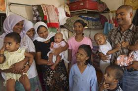 Kmen Rohingya - muslimská etnická skupina v Barmě
