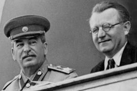 J. V. Stalin a Klement Gottwald