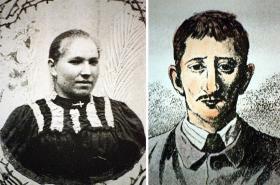 Anežka Hrůzová a Leopold Hilsner