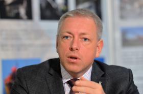 Ministr vnitra Milan Chovanec (ČSSD)