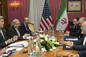 Schůzka íránské a americké diplomacie