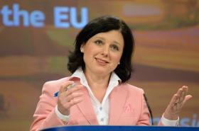 Eurokomisařka Věra Jourová (ANO)