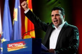Zoran Zaev, lídr makedonské Sociálnědemokratické aliance