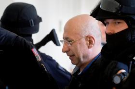 Faouzi Jaber u Městského soudu v Praze (18. prosince 2014)