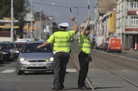 Dopravní policisté v Ostravě