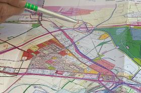 Plánovaný sjezd z dálnice na Černovickou terasu