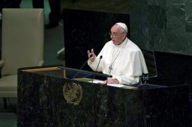 Papež František promluvil v OSN