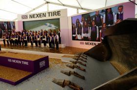 Zahájení stavby továrny Nexen v Žatci