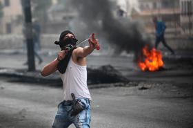 Protesty v Betlémě