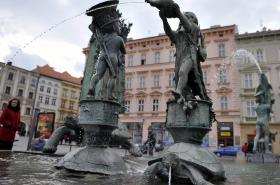 Arionova kašna v Olomouci