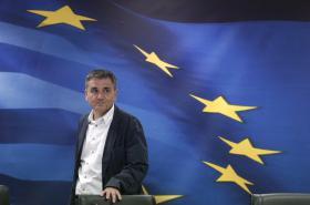 Řecký ministr financí Euklidis Tsakalotos