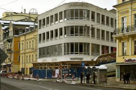 Mariánskolázeňský obchodní dům Baťa