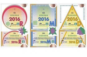 Roční, měsíční a desetidenní dálniční kupon na rok 2016