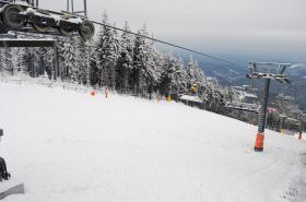 Skiareál na Černé hoře