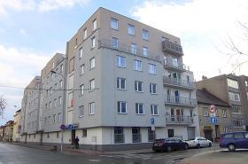 Bytový komplex v Milheimově ulici v Pardubicích
