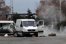Zásah u letiště v Sofii