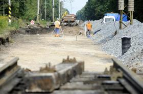 Železniční výluka