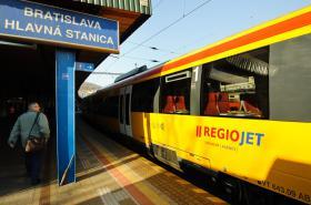 RegioJet v Bratislavě