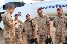 Josef Bečvář na návštěvě v Mali