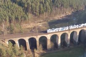 Železniční viadukt u Řikonína