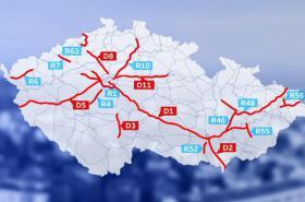 Rychlostní silnice se od roku 2016 mění na dálnice