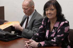 Marta Semelová u soudu