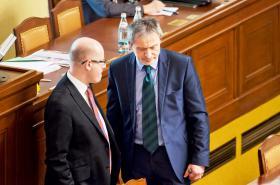 Bohuslav Sobotka a Martin Stropnický