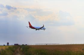 Přistání v Praze