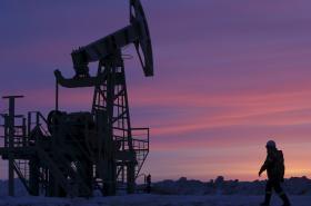 Těžba ropy v Rusku