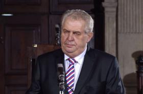 Inaugurační projev Miloše Zemana