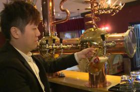 Česká restaurace v Číně