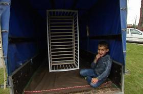 Uprchlíci se přestěhovali ze Smilovic k Žermanické přehradě