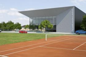 Návrh podoby olympijského centra v Prostějově