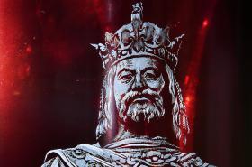 Skleněná rytina Karla IV.