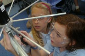 Žáci základní školy ve Virginii ve spolupráci s NASA sestavili vesmírný satelit