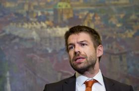 Ministr spravedlnosti Robert Pelikán (za ANO)