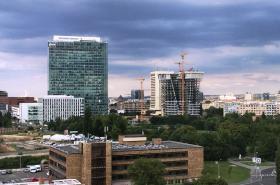 Výškové budovy na Pankráci