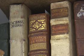 Knihy z fary ve Křtinách