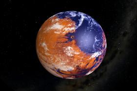 Mars: Modrá nebo hnědá planeta?