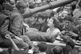 Sovětská armáda v Praze 21. srpna 1968