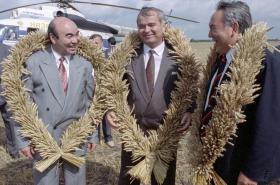 Trio Akajev, Karimov, Nazarbajev na setkání v roce 1993