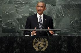 Barack Obama v sídle OSN