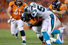 Carolina Panthers versus Denver Broncos
