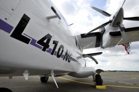 Modernizovaný dopravní letoun L-410 NG